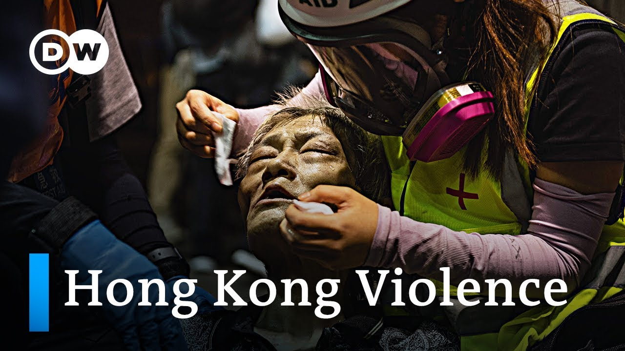 With Escalating Violence In Hong Kong, U.S. Urges Both Sides To ...