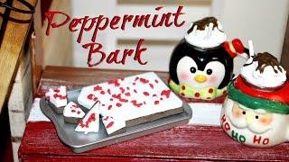 DIY American Girl Doll Peppermint Bark