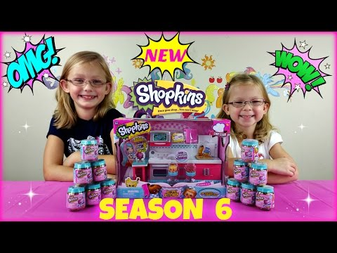 NEW SHOPKINS SEASON 6 Chef Club Surprise...