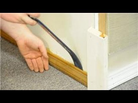 Trim   Molding   How to Replace Floor Trim   YouTube
