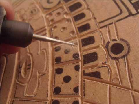 Grabado en madera xilografia dvsl youtube - Que pintura utilizar para madera ...