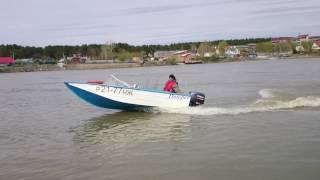 Лодка Днепр мотор Ямаха/YAMAHA 30 HWCS(Проверка мотора после зимы., 2016-05-10T01:15:10.000Z)