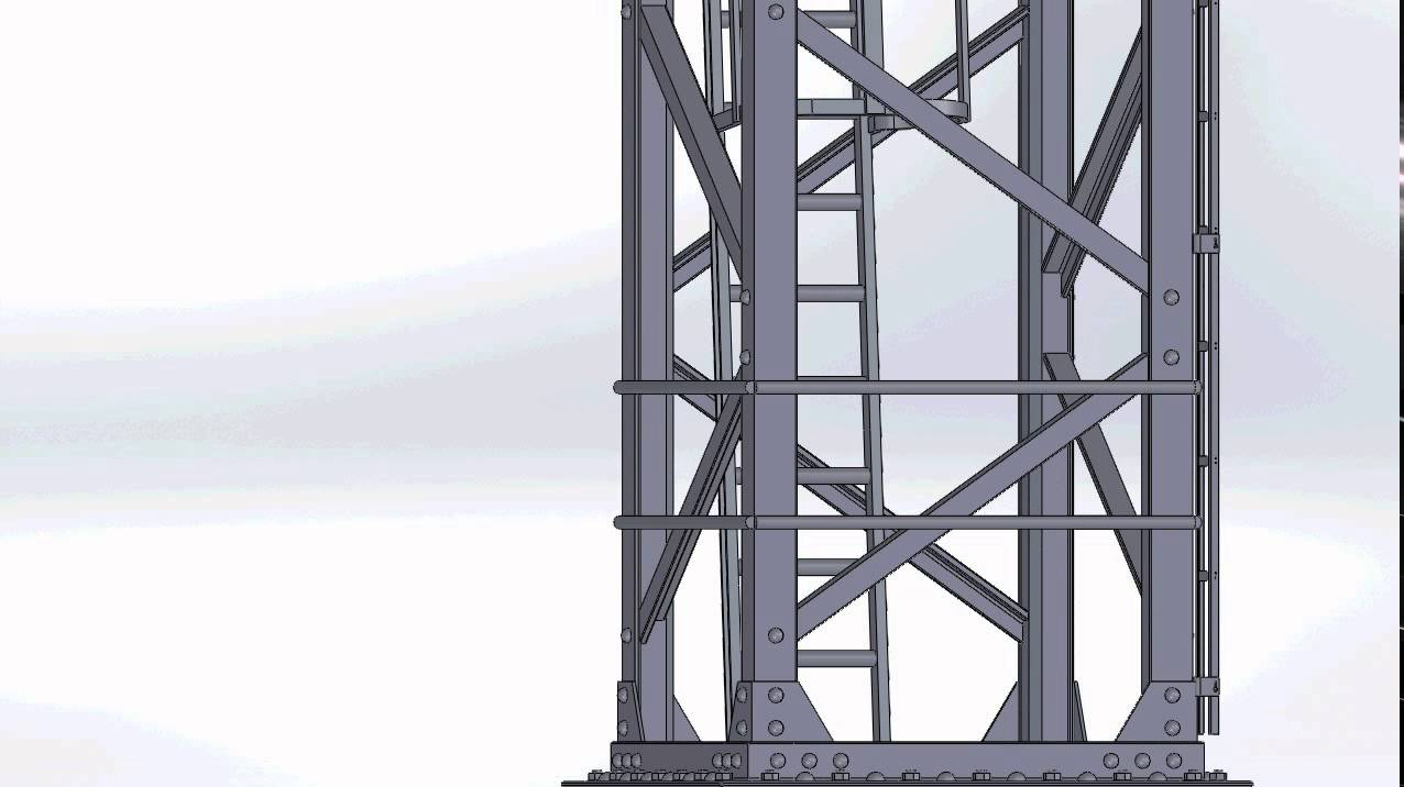 Pylône De Dépôt Sncf En Ho Impression 3d