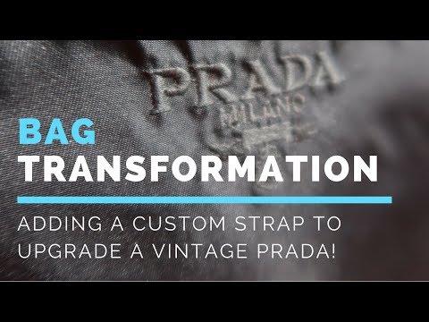 Prada Nylon bag transformation