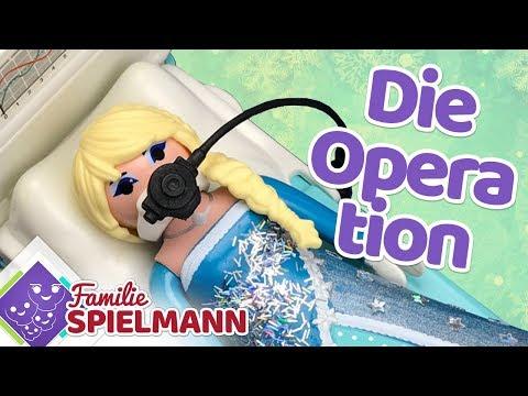 Die OPERATION im Krankenhaus - warum muss Elsa operiert werden? Playmobil Geschichten für Kinder