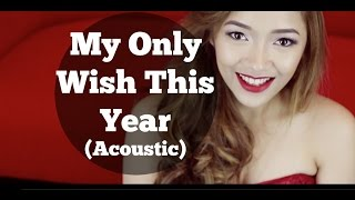 My Only Wish This Year | Acoustic Cover by Jehaziel Alburo