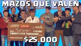 PROBAMOS LOS MAZOS DE YAOYAO, GANADOR DE LA KING'S CUP | Clash Royale con TheAlvaro845 | Español