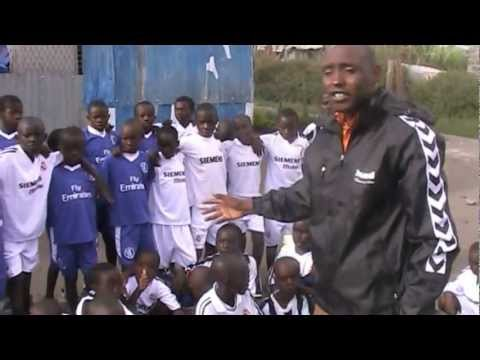 soccer jerseys to kids in Kenya, Isinya