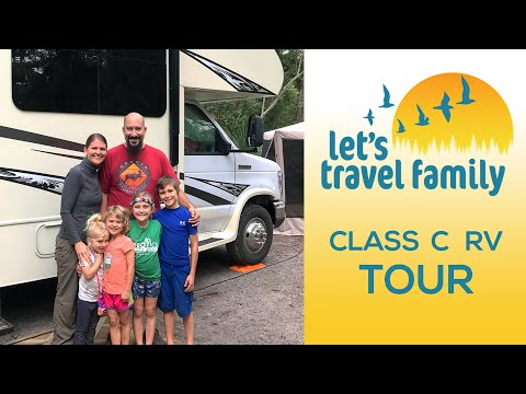 RV Tour: family of six living in a Class C RV
