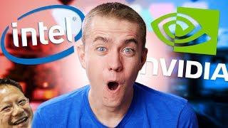 The Nvidia Vs Intel War Has Begun!!!