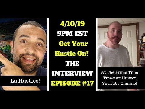 PRIME TIME LIVE! Epsiode #17: Interview with Lu Hustles! Amazon FBA, Ebay, & More!
