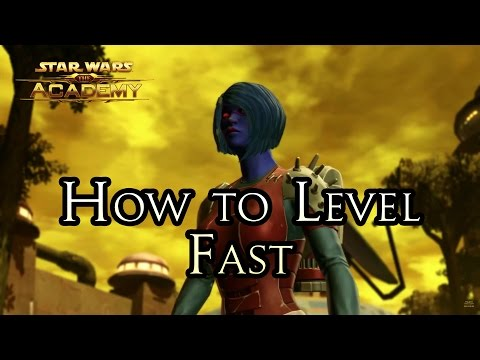"The Academy - ""How to Level Up Fast in SWTOR"""