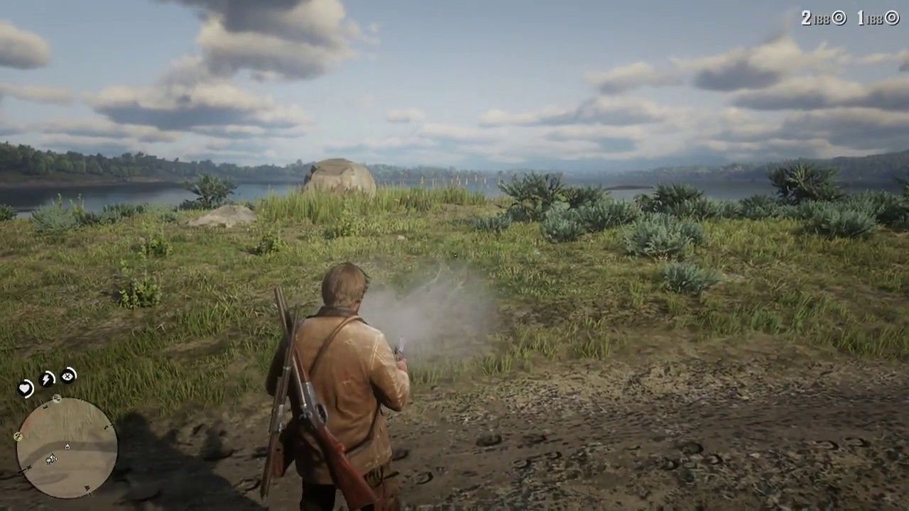 Red Dead Redemption 2 Get Off Hand Holster for Dual Wielding Pistols