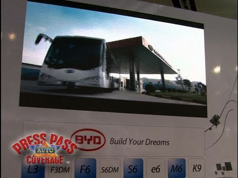BYD Presents New Models and Power System at 2011 Detroit Auto Show