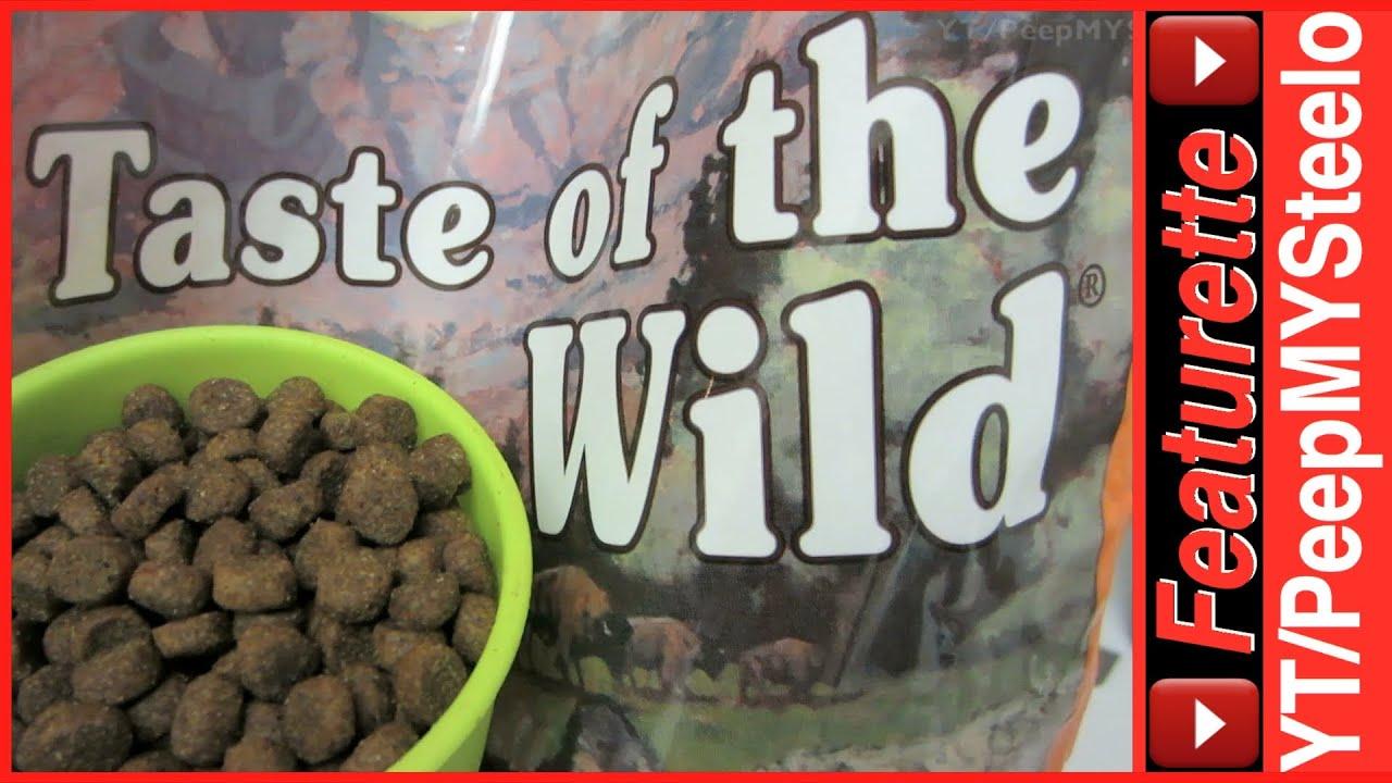 Taste Of The Wild Puppy Food >> Taste of the Wild Dog Food in High Prairie Dry Puppy Formula w/ Grain-Free Ingredients - YouTube