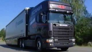Birth of Scania 4 series (original video - factory & road test)