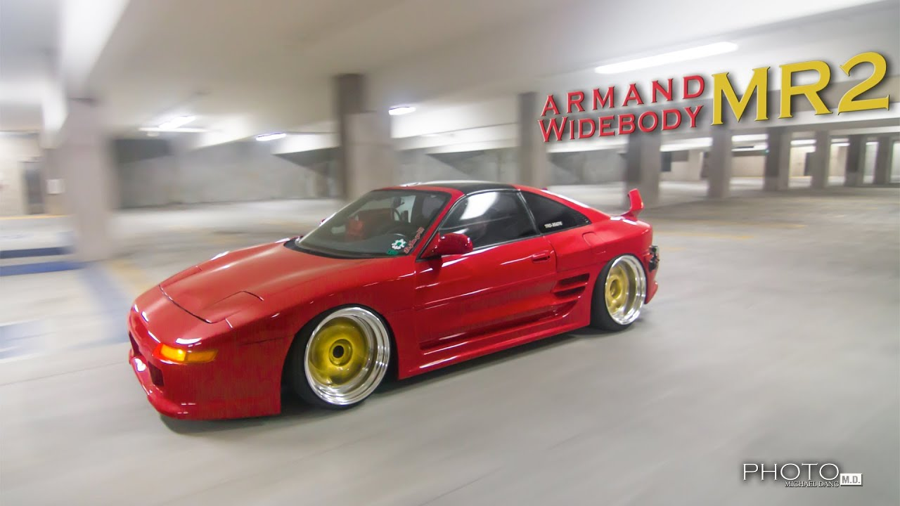 Armand      Widebody Toyota Mr2 Feature