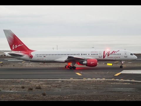 VIM Airlines || B757-230 || Taxi&TakeOff Tenerife South! [HD]