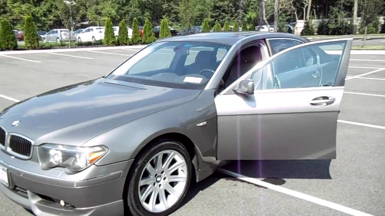 2003 BMW 740Li AC Schnitzer Package For Sale  YouTube