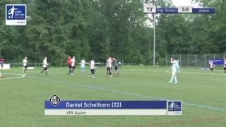 EnBW-Oberliga 'Tor der Rückrunde' 2015/16, Tor #1: Daniel Schelhorn (VfR Aalen)