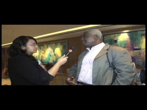 A short interaction with Francis Kokutse, West African Bureau at Indiasoft 2015