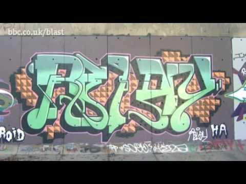 Street Art interview with D*Face (BBC Blast)