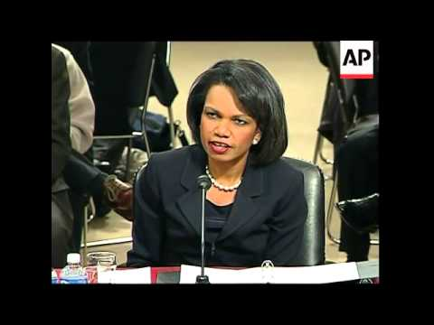 Rice testifies over US nuclear agreement with India