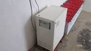 4kw Solar Inverter System Project at NELLORE