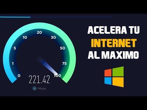 Como Acelerar Al MÁXIMO La Velocidad De Tu Internet | Windows 10 | 2019