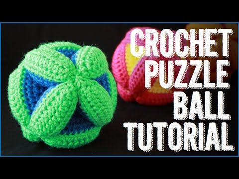 Crocheting Youtube : Crochet Puzzle Balls!! - YouTube