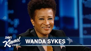 "Wanda Sykes on Liz Cheney's Great Hair, Returning to Society After Quarantine & ""The Upshaws"""
