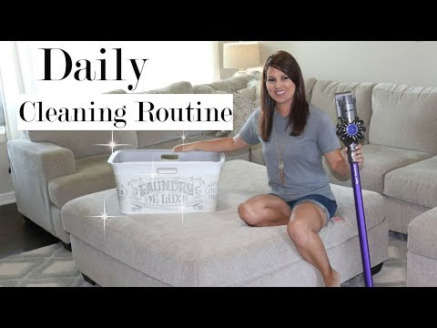DAILY CLEANING ROUTINE 2018 | ALL DAY CLEANING | WHAT I CLEAN EVERYDAY