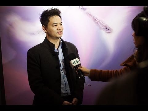 Jp LAM art director O-Gallery / O-Marketing Shanghai interview by ICS.wmv