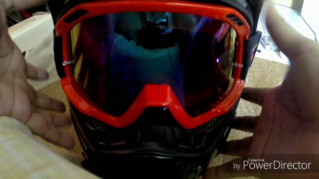 Pasang Goggle Di Helm Snail Supermoto Yg Terakhir Abrakadabra Mx 311 Vancore
