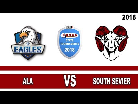3A Boys Basketball: ALA vs South Sevier High School UHSAA 2018 State Tournament Round 1