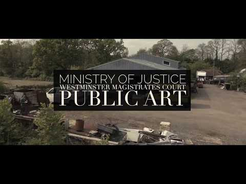 Bex Simon Ministry of Justice Westminster Magistrates Court public art