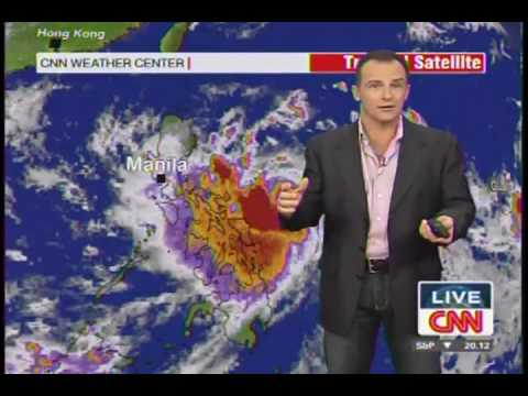 10/2/09 Typhoon Pepeng (Parma) CNN iDesk Report