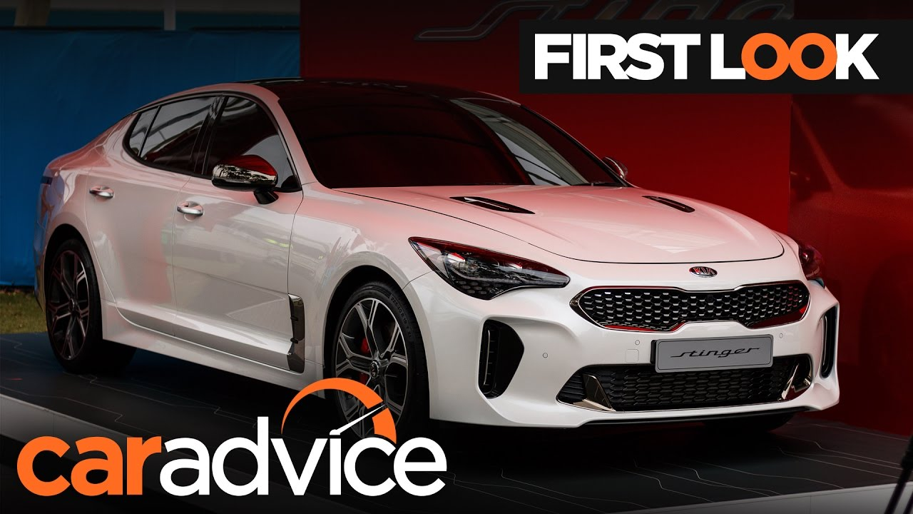 2018 Kia Stinger Gt Unveiled At 2017 Australian Open Caradvice You
