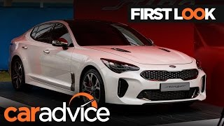 2018 Kia Stinger GT unveiled at 2017 Australian Open | CarAdvice