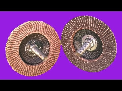 Wow ?? BRILLIANT IDEAS OF ANGLE GRINDER FLAP DISC RECYCLE HACK