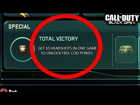 OMG! COD POINTS ARE FREE NOW!!?