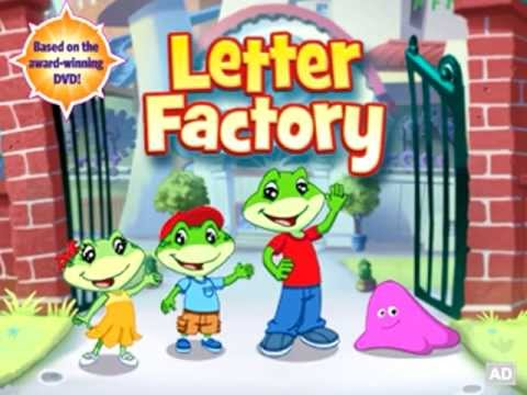 leapfrog letter factory childrens reading spelling app youtube