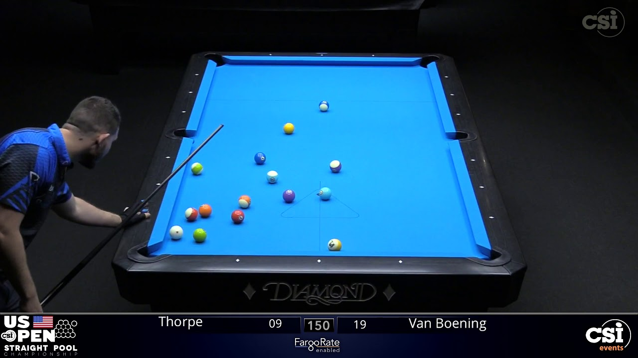 Download STRAIGHT POOL FINAL: Shane Van Boening vs Billy Thorpe | 2019 US Open Straight Pool Championship
