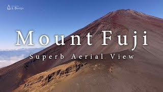 Mt. Fuji in 4K taken with a drone / 絶景富士山 [4K]