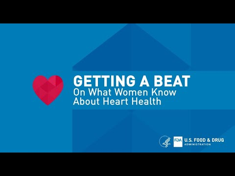 FDA Office of Women's Health: Getting a Beat on What Women Know about Heart Health