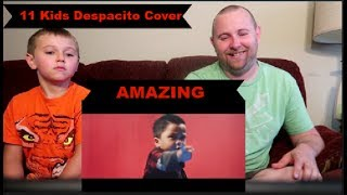 Download Video Despacito Cover by GENHALILINTAR Mom&11kids (ALL AGES LYRICS) REACTION! MP3 3GP MP4