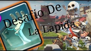 playing the new challenge of memorial tablet! Clash Royale