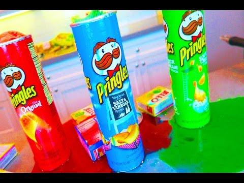 DIY Gummy Pringles!!-How to make Jelly Pringles- Huge fun Messy Tutorial!