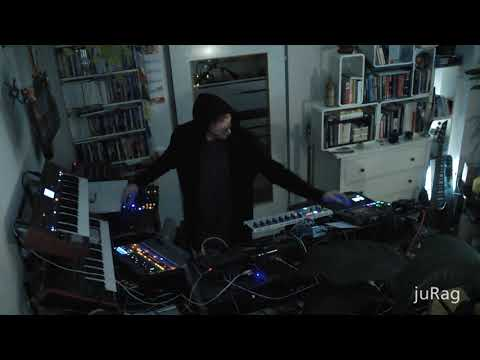 Mr MArple - The Trip Of The Cosmic Engineer - Techno Live Performance