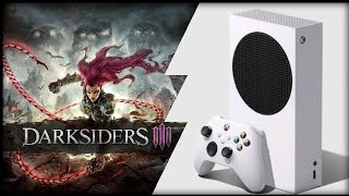 Xbox Series S | Darksiders 3 | Graphics Test/Loading Times